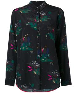 Paul Smith Black Label | Printed Shirt 38 Silk