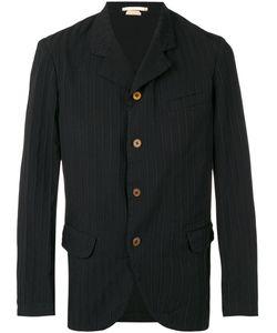 Comme Des Garçons Homme Plus | Striped Classic Blazer