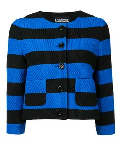 Boutique Moschino | Striped Cropped Cardigan