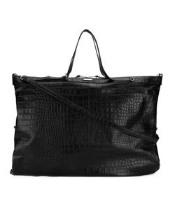 Saint Laurent | Crocodile Embossed Oversized Tote Men