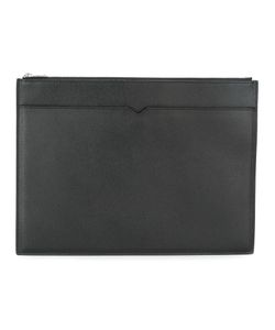 Valextra | Top Zip Flat Clutch