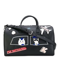 Karl Lagerfeld | Patch Holdall Bag
