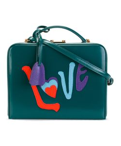 Mark Cross | Love Appliqué Shoulder Bag