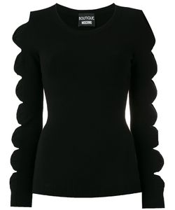 Boutique Moschino | Cut-Out Bow Jumper Size 42