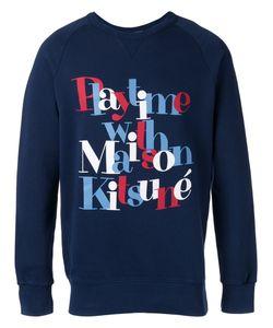 Maison Kitsuné | Playtime Sweatshirt Size Xxl
