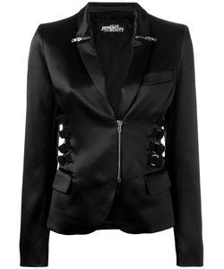 Jeremy Scott | Zip Strap Detail Blazer Size 40