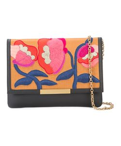 Lizzie Fortunato Jewels | Embroidered Flowers Clutch Bag