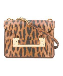 Sophie Hulme   Leopard Print Bag