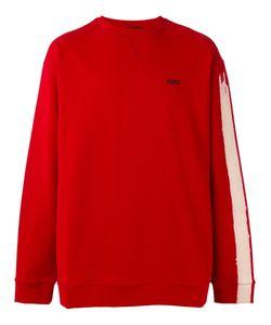 Raf Simons | Striped Sleeve Sweatshirt