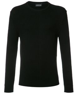 Exemplaire | English Ribbed Crew Neck Jumper Small Cashmere