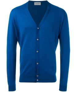 John Smedley | Classic Knitted Cardigan Large Cotton