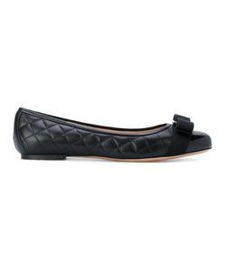 Salvatore Ferragamo | Quilted Vara Ballerina Shoes