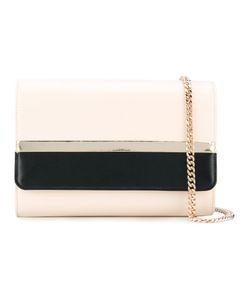 Lanvin | Chain Detail Shoulder Bag Women Cotton/Calf Leather/Lamb