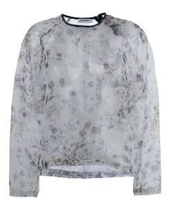 Roseanna | Print Sheer Top 36 Polyester