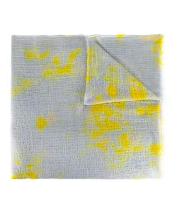 Suzusan | Stained Effect Scarf Adult Unisex Cashmere