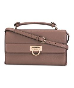 Salvatore Ferragamo | Small Gancio Lock Shoulder Bag