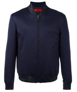 Boss Hugo Boss   Ribbed Collar Bomber Jacket Size Xl