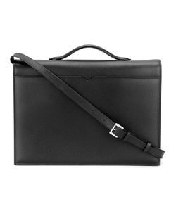 Valextra | Top Handle Messenger Bag