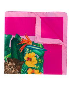 Kiton | Jungle Print Pocket Square