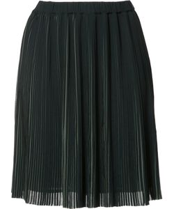 Just Female | Pleated Mini Skirt Small Polyester