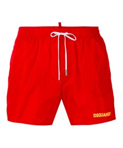 Dsquared2   Logo Printed Swim Shorts