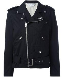 Comme Des Garçons Comme Des Garçons | Ruffled Sleeves Biker Jacket