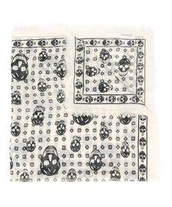 Alexander McQueen | Skull Print Scarf Silk/Modal