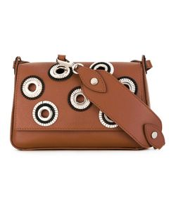 Orciani | Studded Crossbody Bag Women Calf Leather/Metal Other