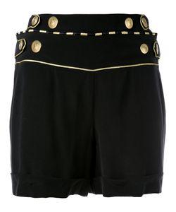 Pierre Balmain   Buttoned Waist Shorts