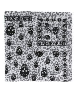 Alexander McQueen | Animalier Skull Scarf Modal/Cotton