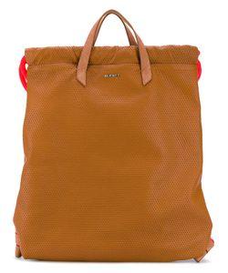 Diesel   Handle Applique Backpack