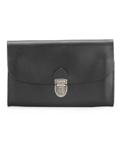 Ann Demeulemeester Blanche | Fold-Over Closure Wallet Leather