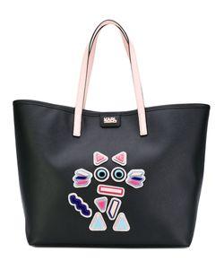Karl Lagerfeld | Cat Motif Shopping Bag