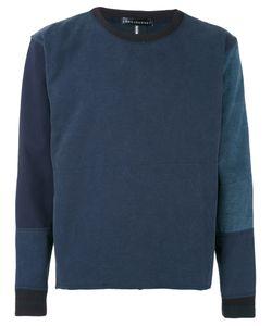 Longjourney | Patched Sweatshirt L