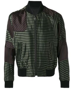 Wooyoungmi | Striped Bomber Jacket 52