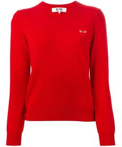 Comme Des Garçons Play | Embroidered Heart Sweater