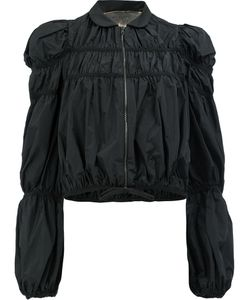 Giambattista Valli | Ruffled Lightweight Jacket Size 40