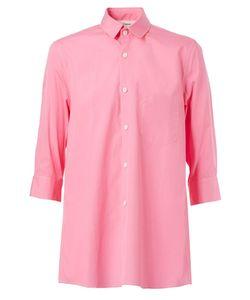 Digawel   Cropped Sleeve Shirt