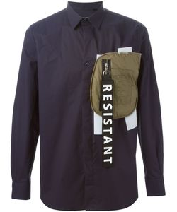 Matthew Miller   Contrast Patch Pocket Shirt