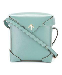 Manu Atelier   Mini Pristine Crossbody Bag Calf Leather