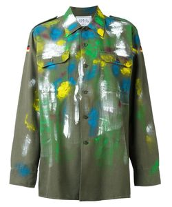 Forte Couture | Paint Mark Military Jacket Small