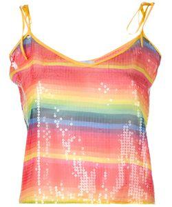 Daizy Shely | Rainbow Stripe Tank Women