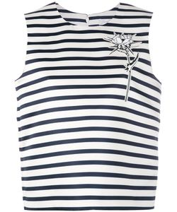 Carven | Striped Rose Top 38