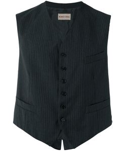 Romeo Gigli Vintage | Pinstriped Waistcoat