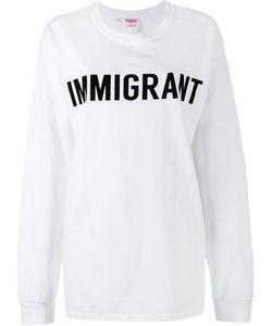 Ashish | Crew Neck Immigrant Sweatshirt Large Cotton