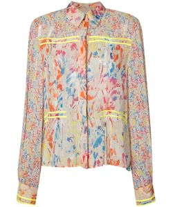 Jason Wu | Printed Pleat Shirt Size 0