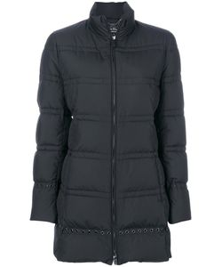 Salvatore Ferragamo | Grommet Detail Puffer Jacket Feather