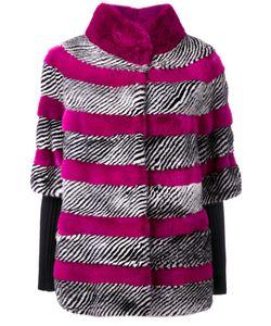 Liska   Striped Jacket Size Medium