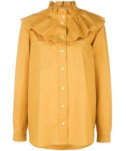 Vivetta | Ruffled Shirt 40 Cotton