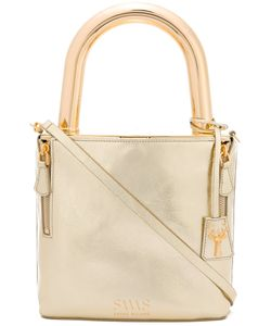 Savas | Lucchetto Tote Calf Leather/Metal Other